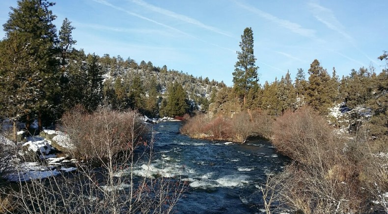 Deschutes River at Sawyer Park Bend Oregon